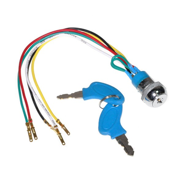 Five Wires Ignition Key Switch K01-1005