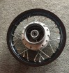 Dirt bike rear wheel